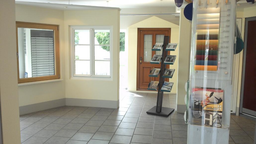 Ausstellung Fenster Türen Wiedmann