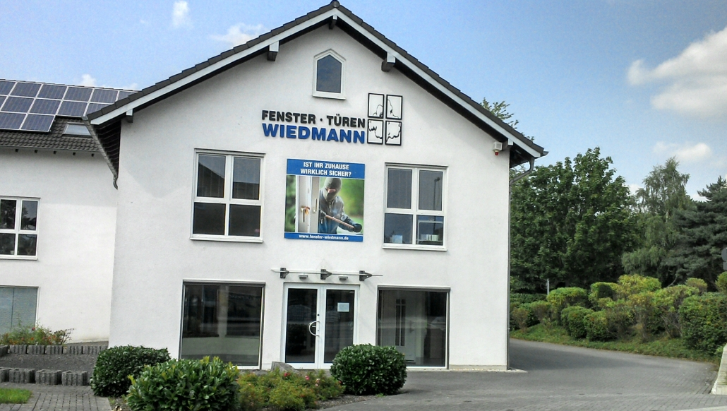 Fenster Türen Wiedmann - Gebäude Außenansicht